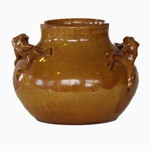 Antique Ceramic Vase by Hjalmar Møller