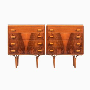 Czech Bedside Cabinets from Novy Domov NP, 1960s, Set of 2