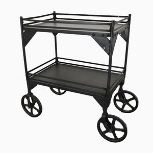 Antique French Roulette Trolley