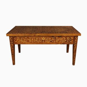French Inlaid Writing Desk with Mother of Pearl, 1950s