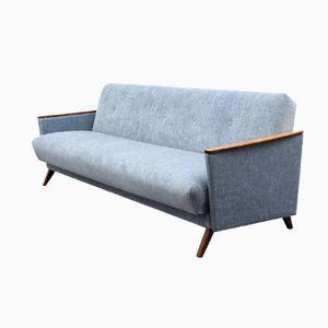 Dove Blue Folding Sofa, 1950s