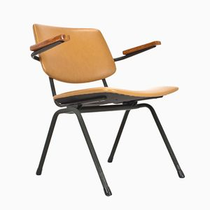 Mid-Century Dutch Leatherette Chair from Marko Holland, 1965