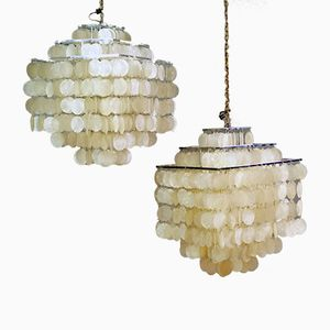 Fun Pendants by Verner Panton for Luber, 1964, Set of 2