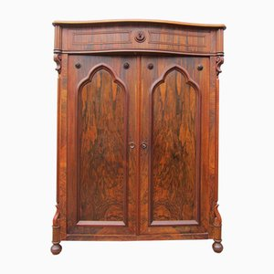 Antique Rosewood Cabinet from Atelier Paragon, 1850s