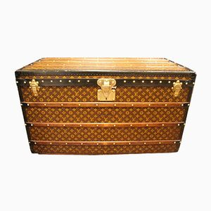 Stenciled Monogramm Courier Steamer Trunk from Louis Vuitton, 1930s