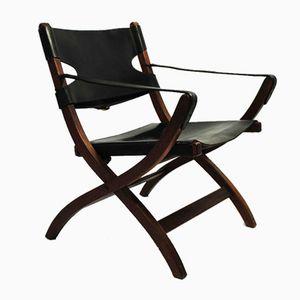 Chaise Campaign par Poul Hundevad pour Vamdrup Stolefabrik, 1950s