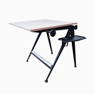 Mid-Century Reply Drawing Desk by Friso Kramer & Wim Rietveld for Ahrend de Cirkel