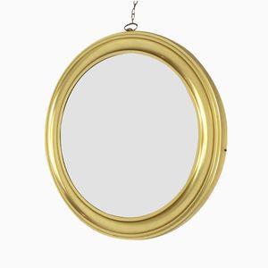 Grand Miroir Vintage avec Cadre Doré
