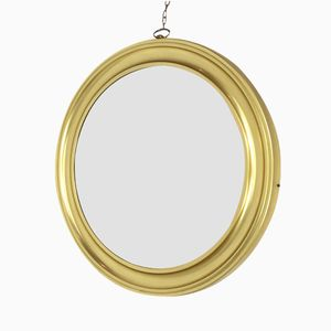 Large Vintage Mirror with Golden Frame