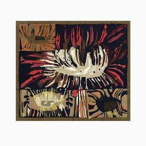 L'Oiseau Blanc Wandteppich von Robert Wogensky für ITF, 1960er