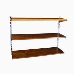 Mid-Century Teak Shelf by Kai Kristiansen for Feldballes Møbelfabrik