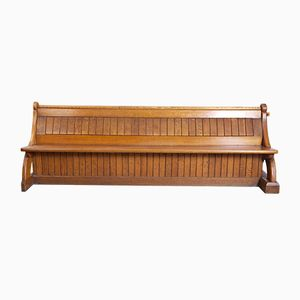 Antique Church Pews, 1900s, Set of 2