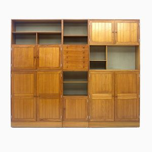 Large Bookcase by Rud Thygesen & Johnny Sørensen for HG Furniture, 1960s