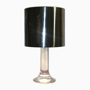 Vintage Plexiglas Tischlampe von Harvey Guzzini für Guzzini