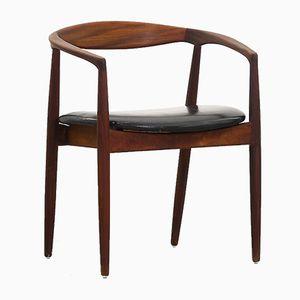 Palisander Armlehnstuhl von Kai Kristiansen für Magnus Olesen, 1950er