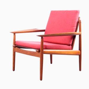 Easy Chair par Arne Vodder pour Gløstrup Mobelfabrik, 1960s