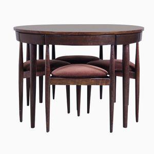 Rosewood Dining Table Set by Hans Olsen for Frem Rojle, 1952