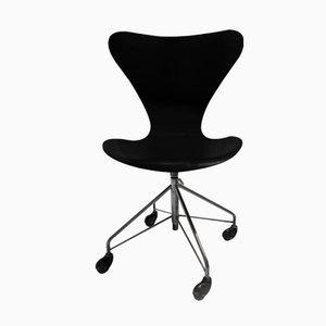 Chaise de Bureau 3117 par Arne Jacobsen pour Fritz Hansen, 1980s