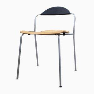 Danish Beech Office Chair from Fritz Hansen, 1980s