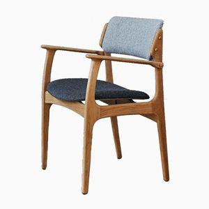 Chaise Mid-Century Model 50 par Erik Buch pour O.D Mobler