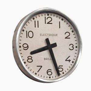 Horloge d'Usine Industrielle de Brillié, France, 1950s
