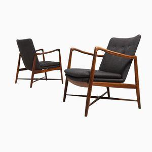 Vintage B059 Rosewood Easy Chairs by Finn Juhl for Bovirke, Set of 2