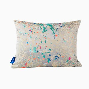 Coussin Gris Multi Crystalline Rectangulaire de Other Kingdom