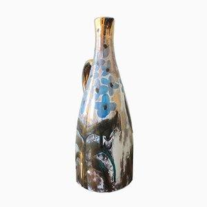 Ceramic Pitcher Vase by Robert Picault in Vallauris, 1950s