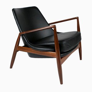 Mid-Century Salen Chair by Ib Kofod-Larsen for OPE