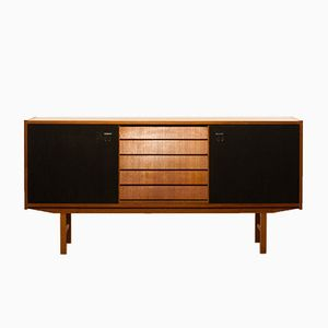 Swedish Teak Sideboard by Erik Wørtz, 1950s