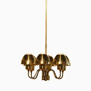 Golden Chandelier by Hans-Agne Jacobsson, 1960s