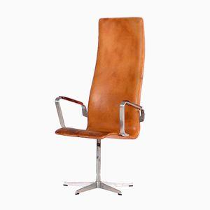 Vintage Modell 3272 Oxford Armlehnstuhl von Arne Jacobsen