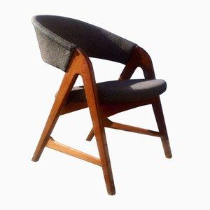 Easy Chair Saw-Bench par Arne Wahl Iversen pour Sorø, 1957