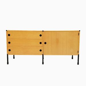 Vintage Sideboard by Pierre Guariche, Joseph-André Motte, and Michel Mortier for Minvielle