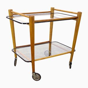 Serving Trolley by Cees Braakman for Pastoe, 1950s