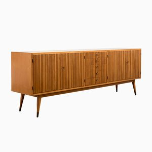 Zebrawood and Birch Sideboard, 1950s