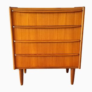 Vintage Danish Chest of Four Drawers
