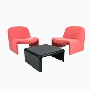 Alky Stühle und Couchtisch von Castelli