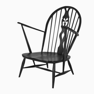 Vintage Fleur de Lille Chair from Ercol