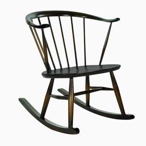Chaise à Bascule Vintage Compacte de Ercol