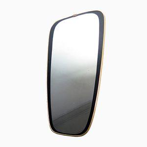 Vintage Black-Framed Mirror
