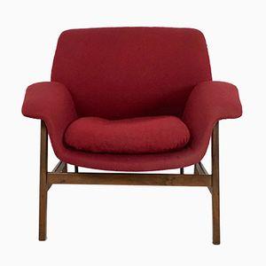 Italienischer Sessel von Gianfranco Frattini für Cassina, 1950er