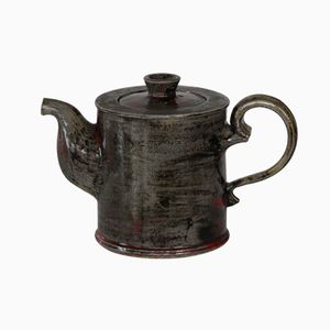 Danish Glazed Tea Pot by Niels Kähler for HAK