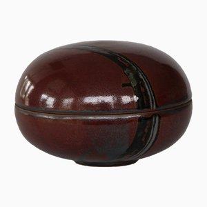 Danish Glazed Ceramic Bowl by Jane Bailey
