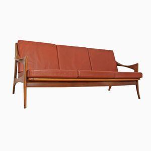 Leather Sofa from de Ster Gelderland, 1960s