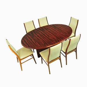 Danish Rosewood Dining Set from Skovmand & Andersen