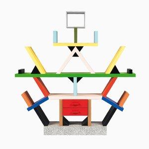 Italienisches Carlton Bücherregal von Ettore Sottsass für Memphis Milano