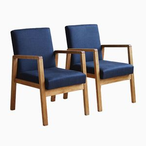 Hallway 51 Armchairs by Alvar Aalto for Artek, 1940s, Set of 2