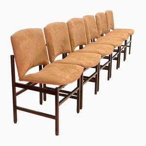 Italian Mid-Century Dining Chairs, 1970s, Set of 6
