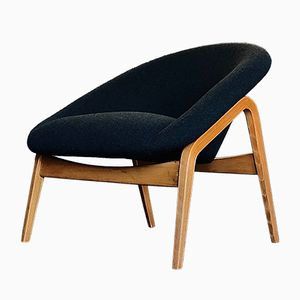 Model 118 Columbus Pot Chair by Hartmut Lohmeyer for May, 1950s